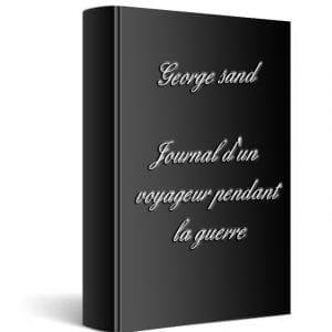 ebook de George sand - Journal d'un voyageur pendant la guerre