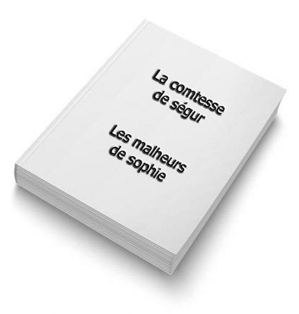 ebook de la comtesse de ségur - les malheurs de sophie