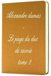 ebook de Alexandre dumas - Le page du duc de savoie tome 2