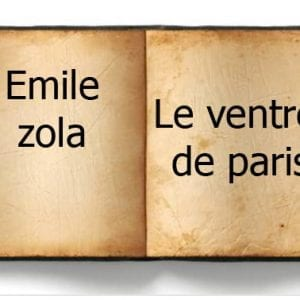 ebook de Emile zola - Le ventre de paris