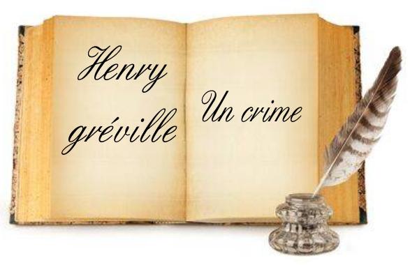 ebook de Henry gréville - Un crime