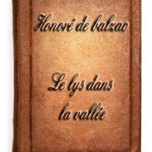 ebook de Honoré de balzac - Le lys dans la vallée