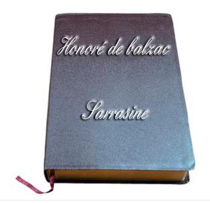 ebook de Honoré de balzac - Sarrasine