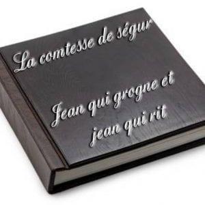 ebook de La comtesse de ségur - Jean qui grogne et jean qui rit