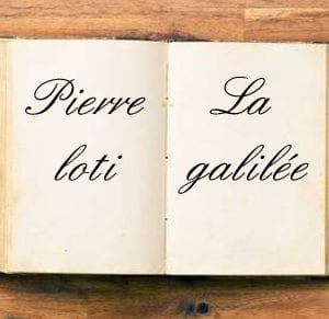 ebook de Pierre loti - La galilée