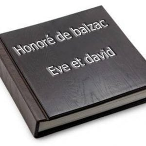 ebook de Honoré de balzac - Eve et david