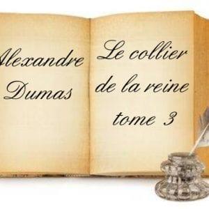 ebook de Alexandre dumas - Le collier de la reine tome 3