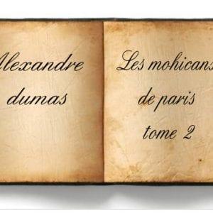 ebook de Alexandre dumas - Les mohicans de paris tome 2