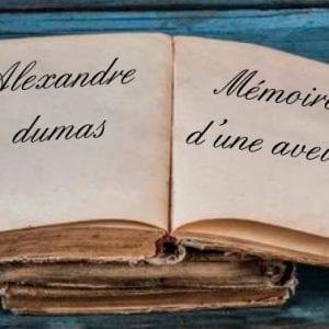 ebook de Alexandre dumas - Mémoires d'une aveugle