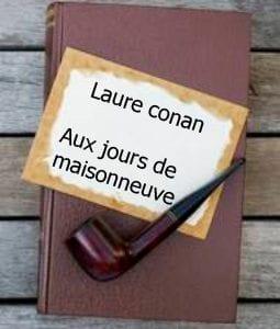 ebook de Laure conan - Aux jours de maisonneuve