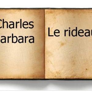 ebook de Charles barbara - Le rideau