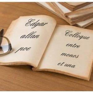 ebook de Edgar allan poe - Colloque entre monos et una