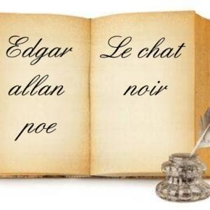 ebook de Edgar allan poe - Le chat noir
