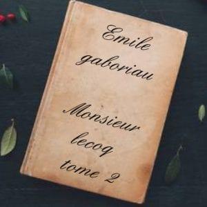 ebook de Emile gaboriau - Monsieur lecoq tome 2