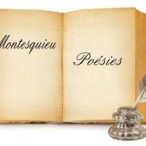ebook de Montesquieu - Poésies