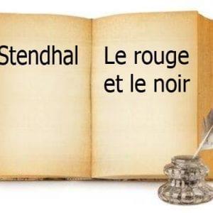 ebook de Stendhal - Le rouge et le noir