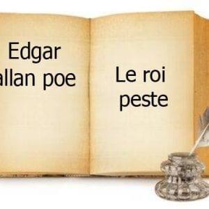 ebook de Edgar allan poe - Le roi peste