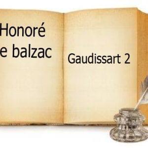 ebook de Honoré de balzac - Gaudissart 2