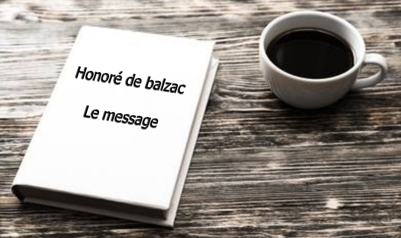 ebook de Honoré de balzac - Le message