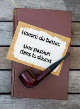 ebook de Honoré de balzac - Une passion dans le désert