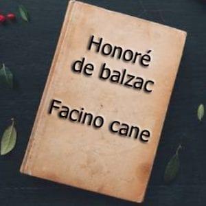 ebook de Honoré de balzac - Facino cane