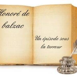 ebook de Honoré de balzac - Un épisode sous la terreur