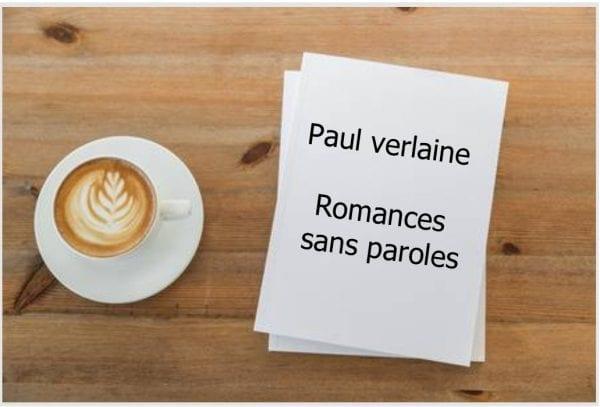 ebook de Paul verlaine - Romances sans paroles